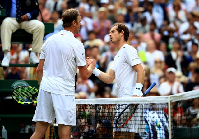 Andy Murray has not played a competitive match since Wimbledon