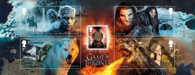 Game Of Thrones stamps (Royal Mail/PA)