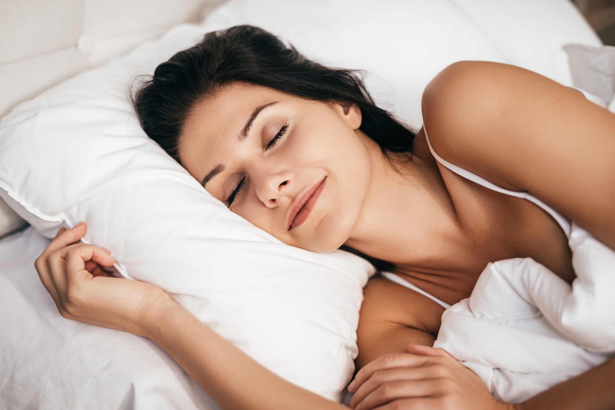young woman sleeping (Thinkstock/PA)