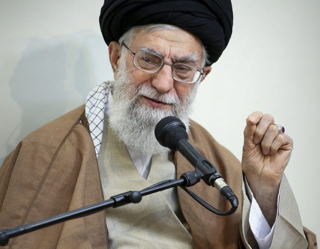 Supreme Leader Ayatollah Ali Khamenei blamed days of protests across the country on meddling by