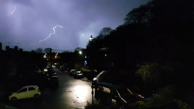 Lightning in Coventry (@ds_nyquist/Twitter/PA)