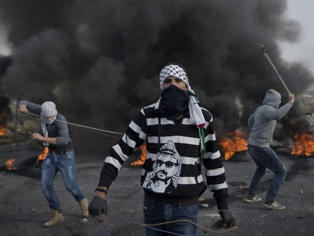 Protests against US president Donald Trump's decision to recognise Jerusalem as the capital of Israel, in the West Bank city of Ramallah