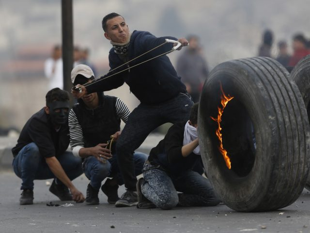 Protests in the West Bank city of Nablus