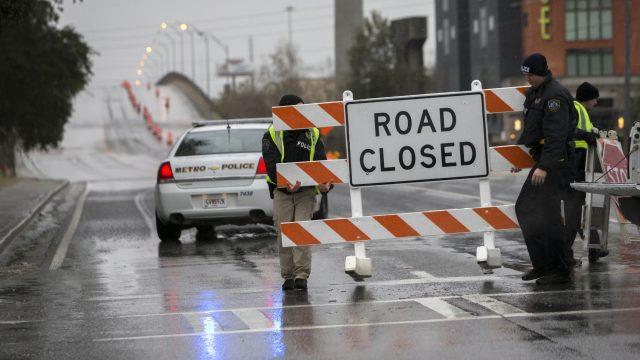 Bridge closed, Savannah