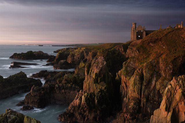 Slains Castle, near Cruden Bay, Aberdeenshire (Charlie Davidson/PA)