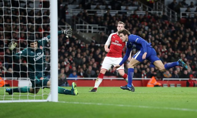 Marcos Alonso capped a fine display with a goal