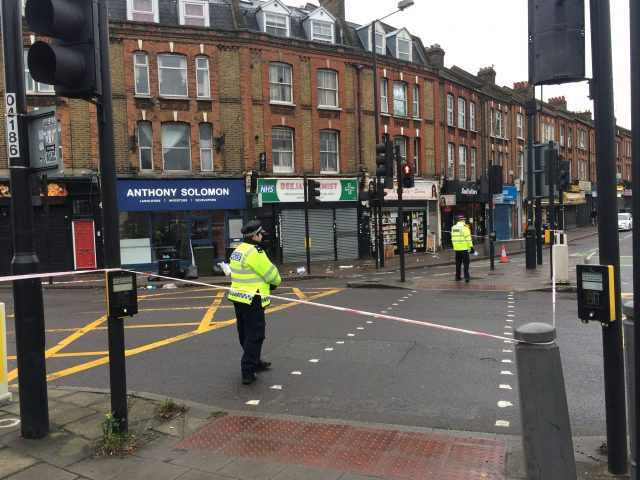 Tulse Hill stabbing on New Year's Eve