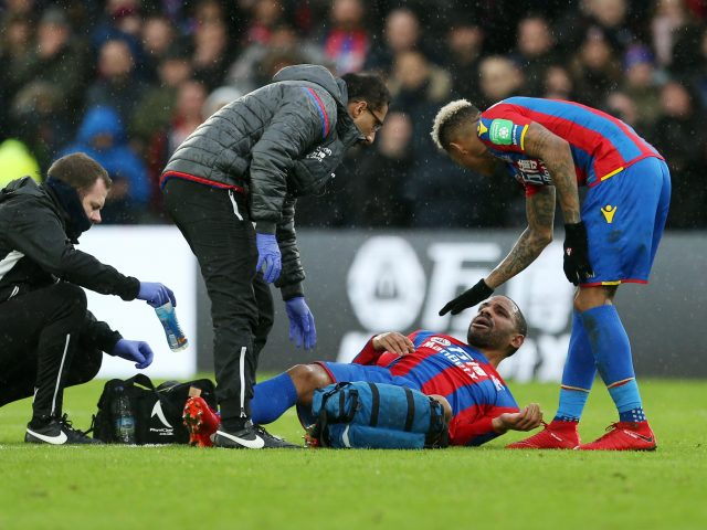Jason Puncheon was injured in a recent match against Manchester City (Steve Paston/PA)