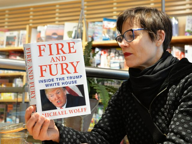 Fire and Fury book an act of fiction; author a fraud