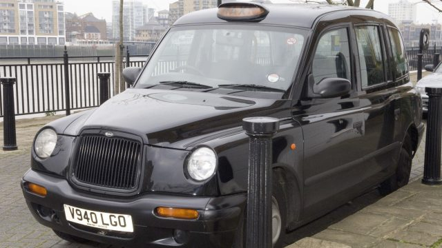 John Worboys' cab