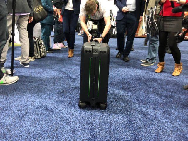 robot suitcase