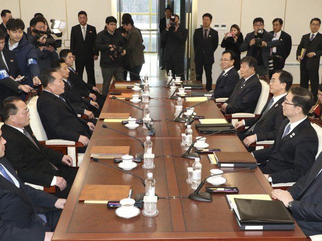 Talks in Paju, South Korea