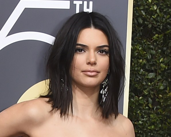 Everyone said the same thing about Kendall Jenner at the Golden Globes