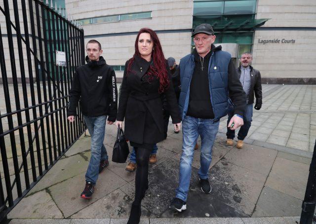 Jayda Fransen court case