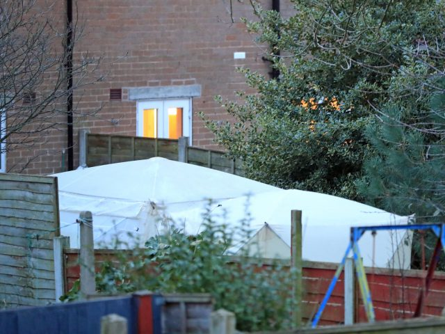 Investigations at the property in Matlock Road