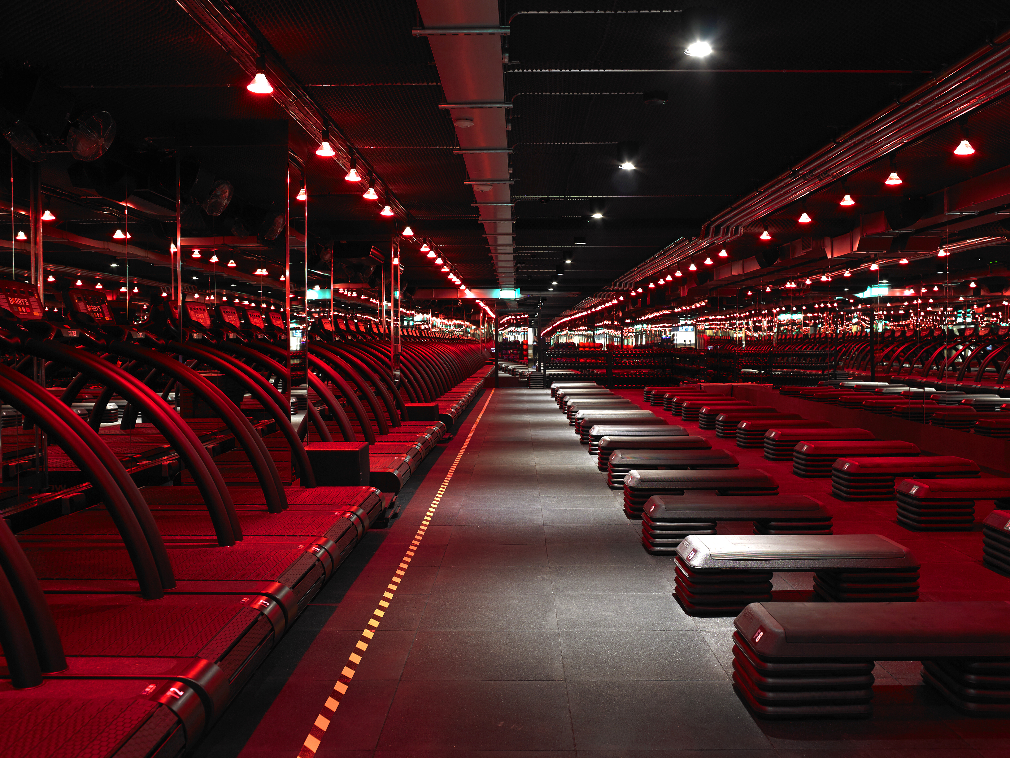 The red room of pain AKA Barry's Bootcamp