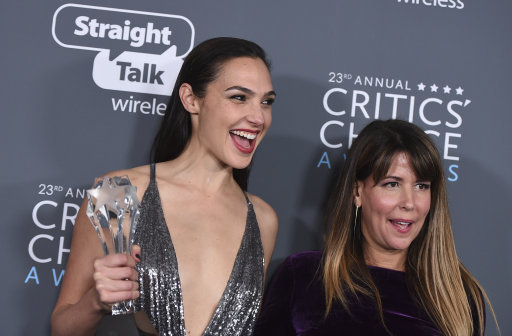 Gal Gadot with Patty Jenkins