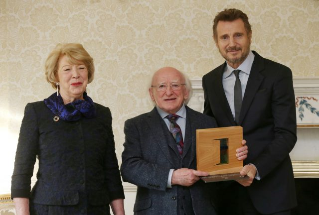 Distinguished Service for the Irish Abroad award