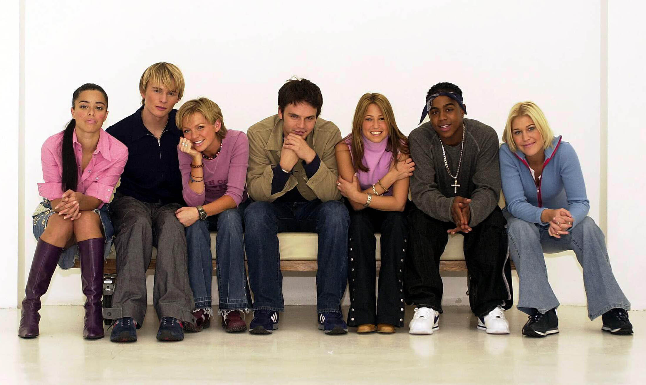 Pop group S Club 7 (Toby Melville/PA)