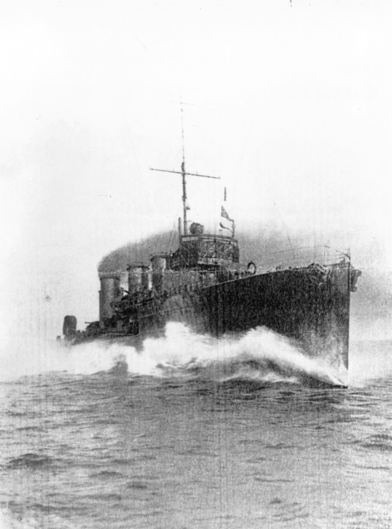 HMS Opal ran aground 100 years ago (Orkney Library and Archive / PA)