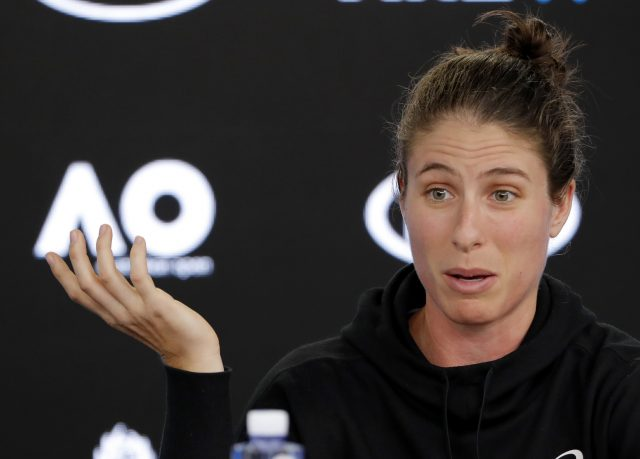 Konta does not agree with margaret Court's views but would play on the court named after her