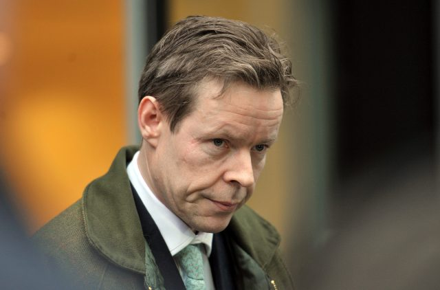 George Bingham, the only son of missing peer Lord Lucan (Nick Ansell/PA)