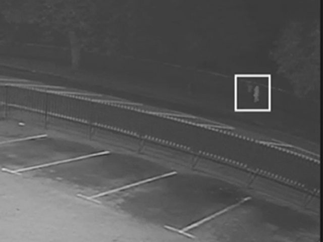 CCTV image from the scene
