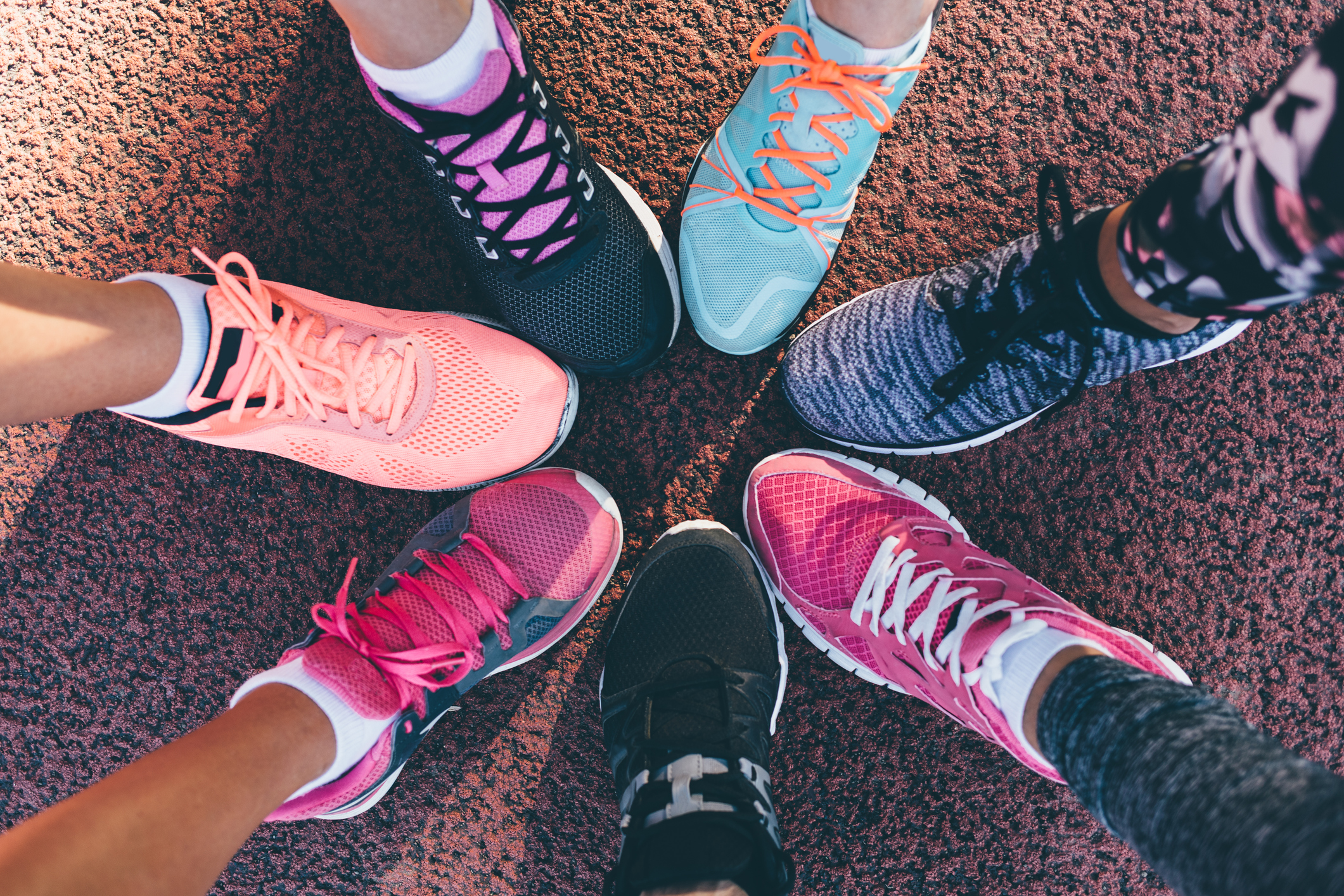 Legs of athletes (Thinkstock/PA)