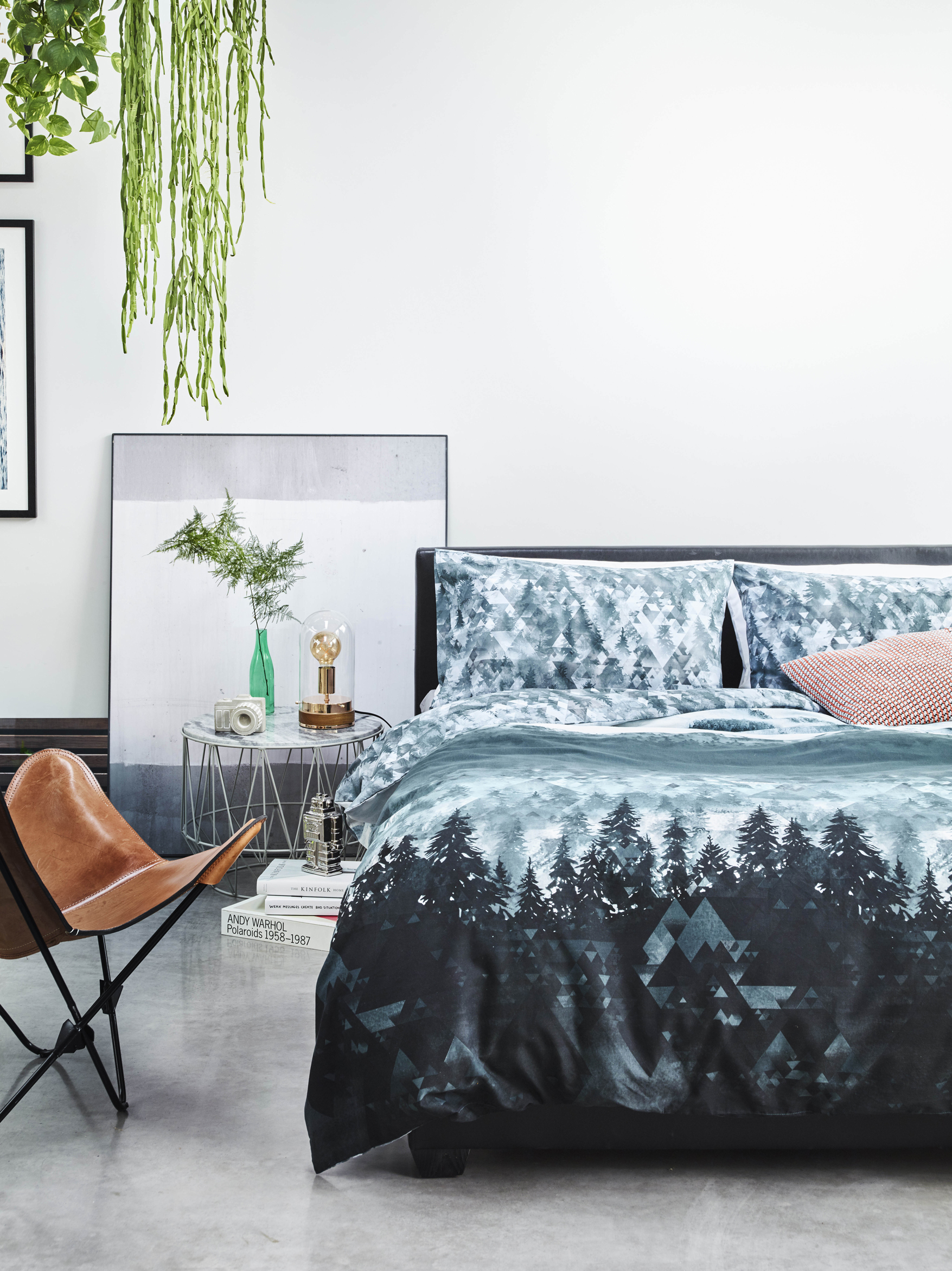 Try George Home At Asda For Bargain Finds Camera Ornament Copper Effect Bell Jar Lamp Grey Oned Double Bed Geometric Textured Cushion
