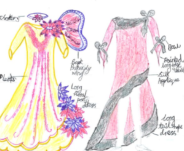 20 times the number of girls aspired to be involved in the fashion industry compared to boys, the survey found. Picture by Samia, 9 (Education and Employers/PA)