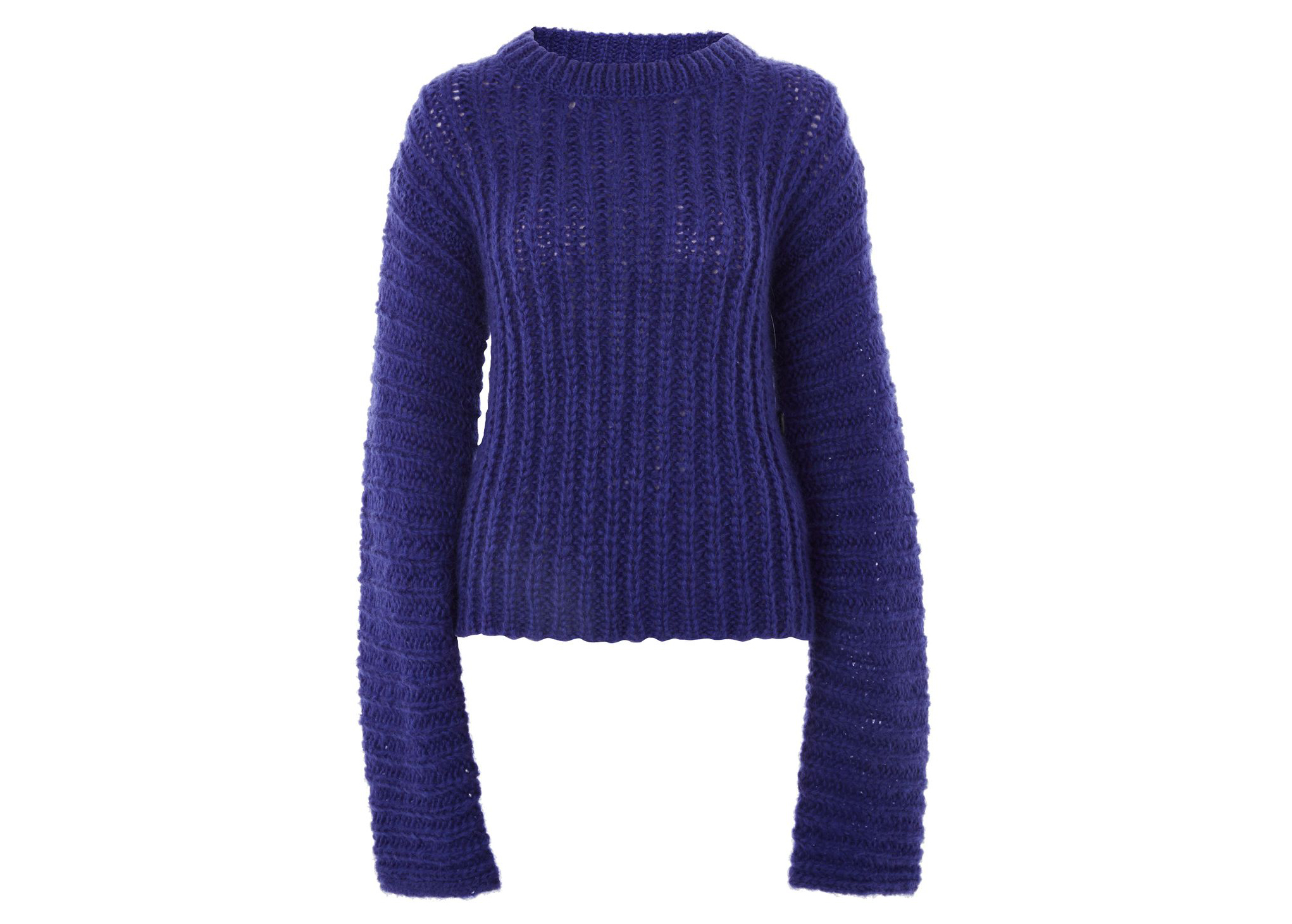 Topshop Boutique Extreme Long Sleeve Knitted Jumper