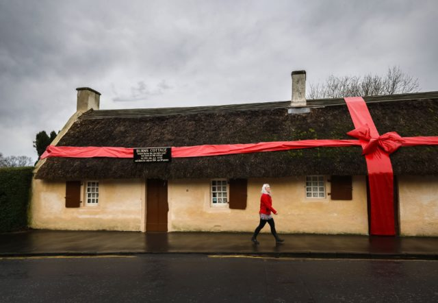 The winner will be announced at Burns Cottage in Alloway on January 24 (Danny Lawson/PA)