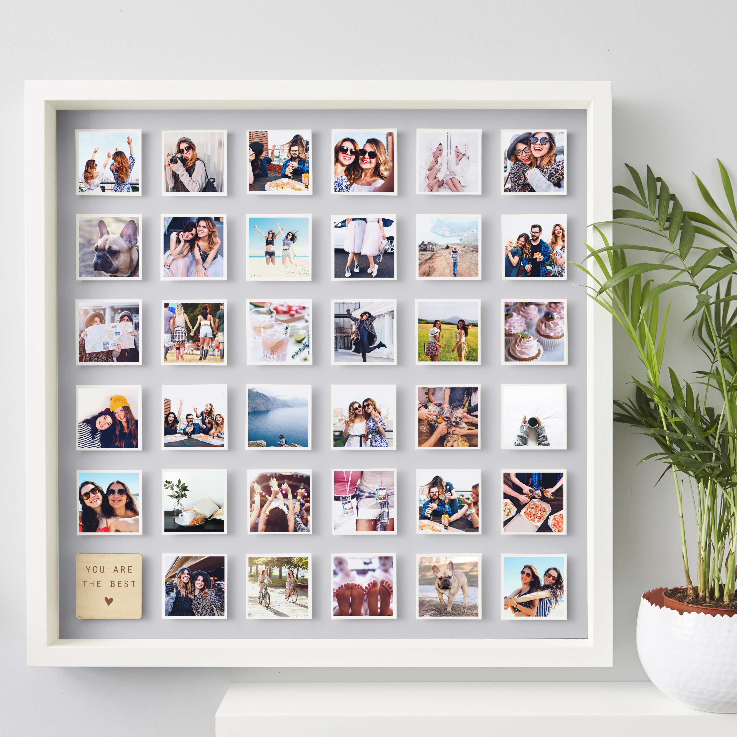 In the frame how to create a wonderwall with pictures irish personalised best friend framed print from 48 notonthehighstreet notonthehighstreetpa jeuxipadfo Choice Image