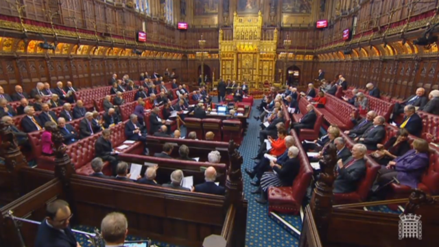 The House of Lords considers the European Union (Withdrawal) Bill at second reading