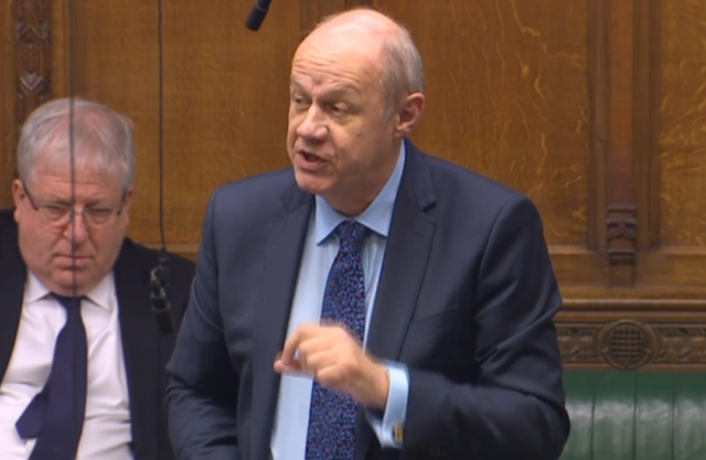 Tory MP Damian Green addresses the Commons