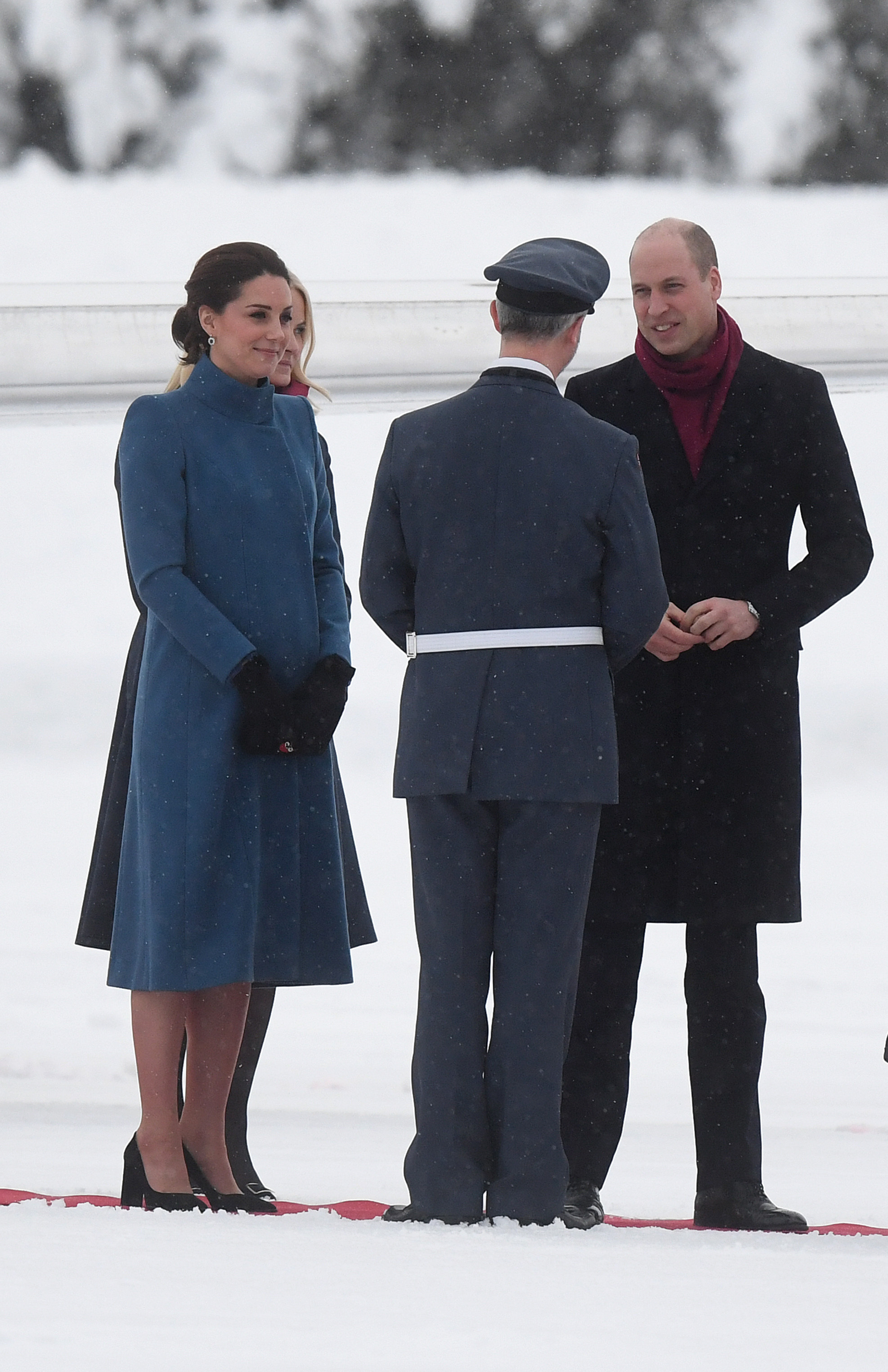 William and Kate are in Norway for the latest leg of their visit (Victoria Jones/PA)