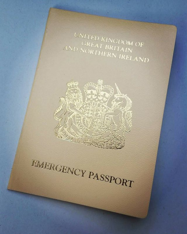 Matilda's passport (PA Real Life/Collect)