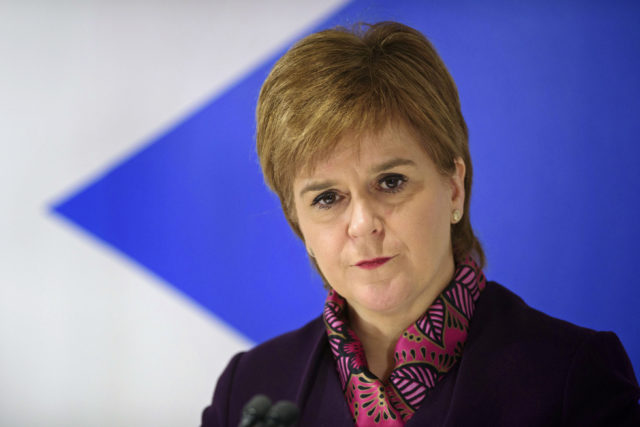 Scottish First Minister Nicola Sturgeon (John Linton/PA)
