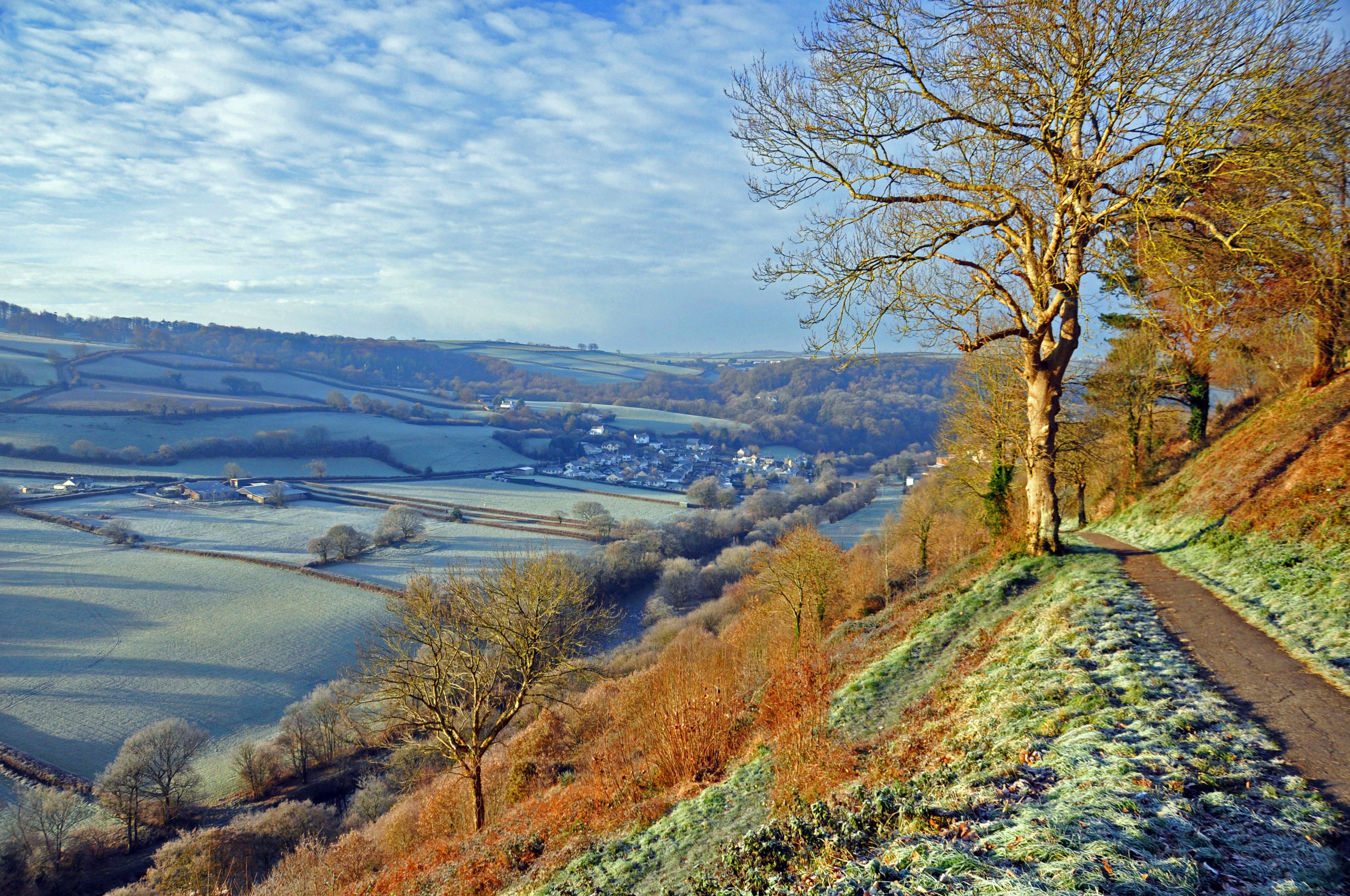 25cc644d9f3 What other areas in Britain would you recommend for cycling? A view from  Castle Hill, Torrington, in North Devon (Thinkstock/PA)