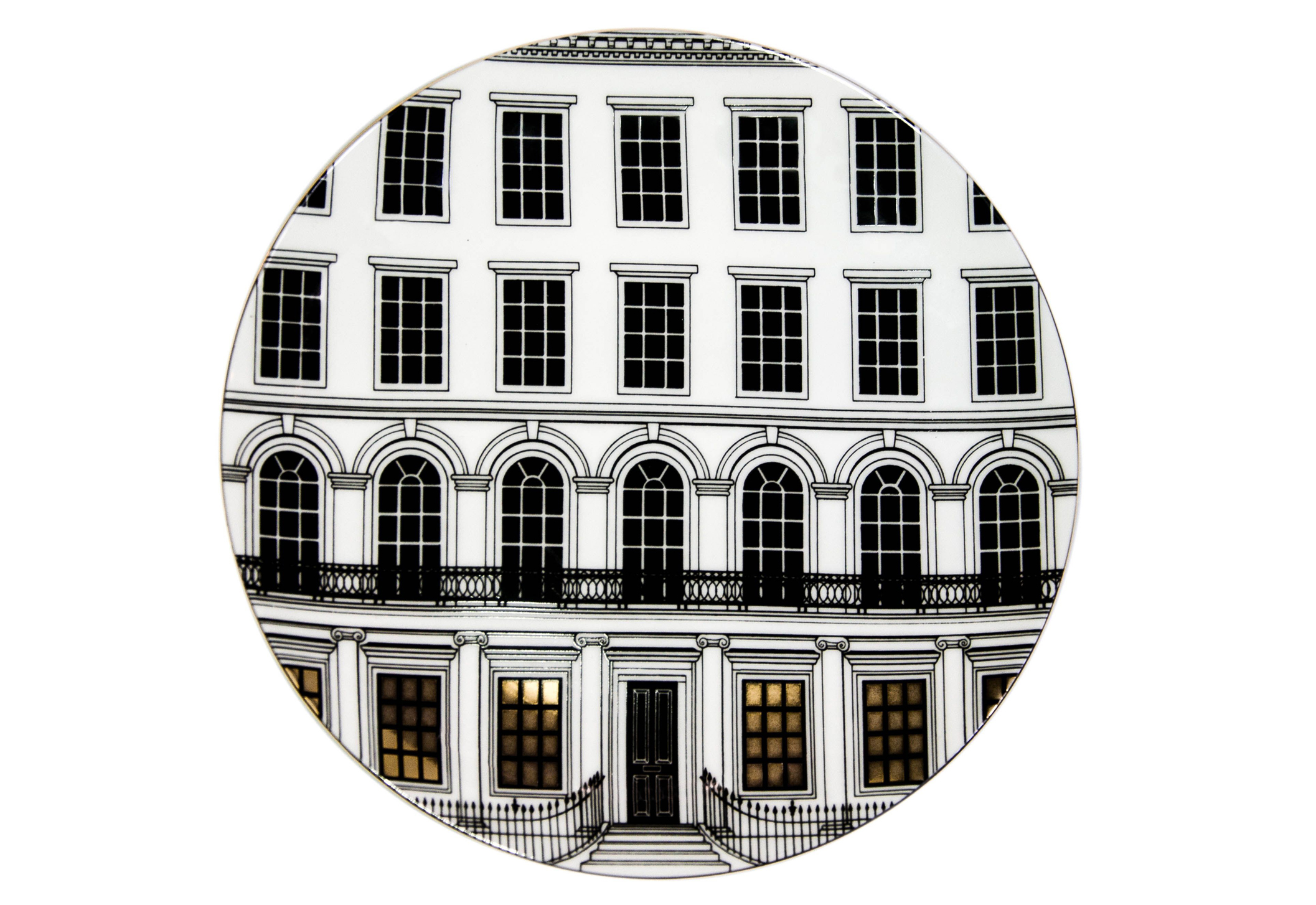 Rory Dobner Beautiful Buildings plate