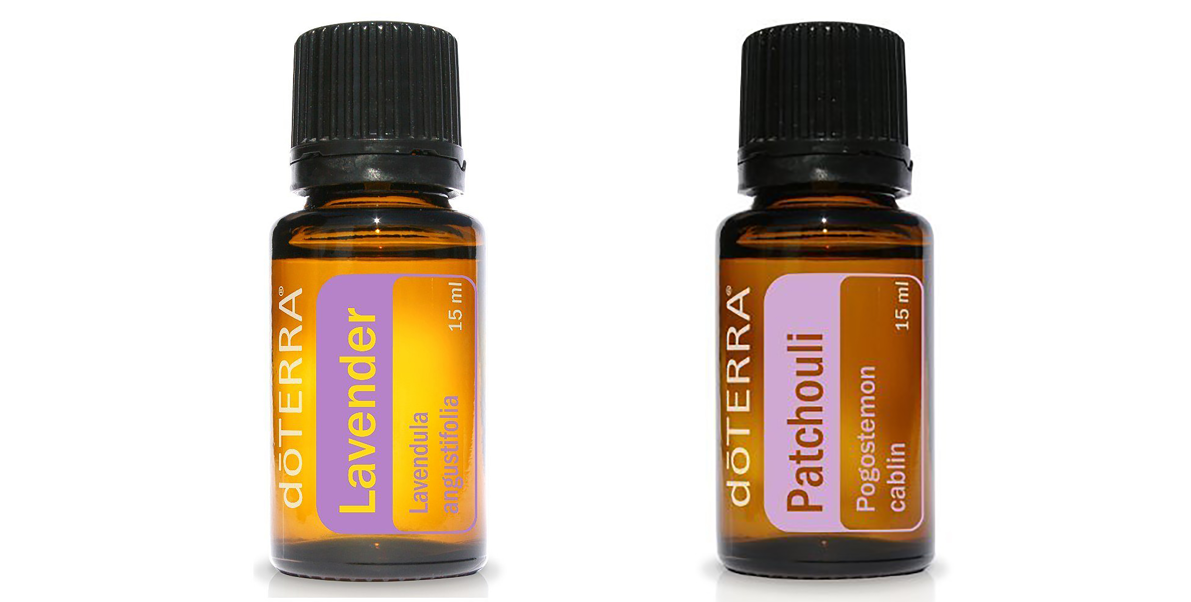 Doterra Lavender and Patchouli Essential Oils