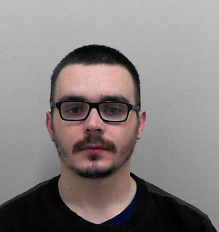Callum Molloy has been banned from driving for two years following a high-speed pursuit with police (Avon and Somerset Police/PA)