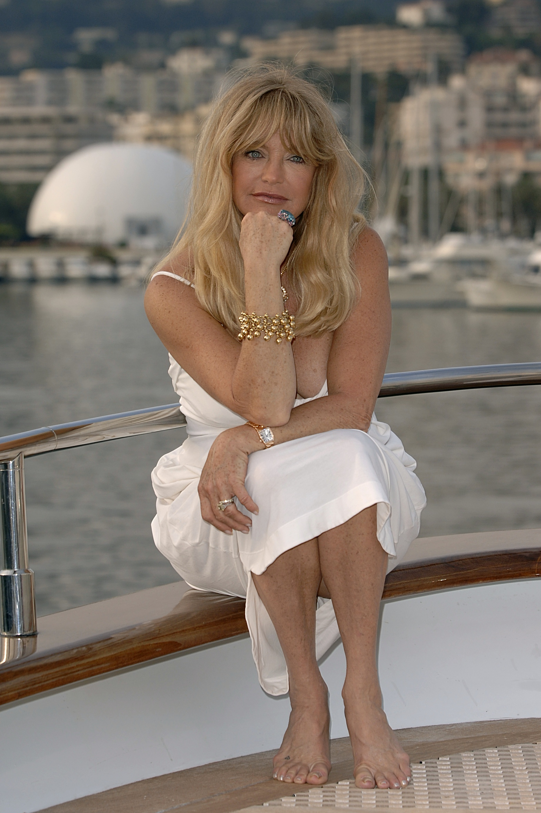 Goldie Hawn at the Cannes film festival (Anthony Harvey/PA)
