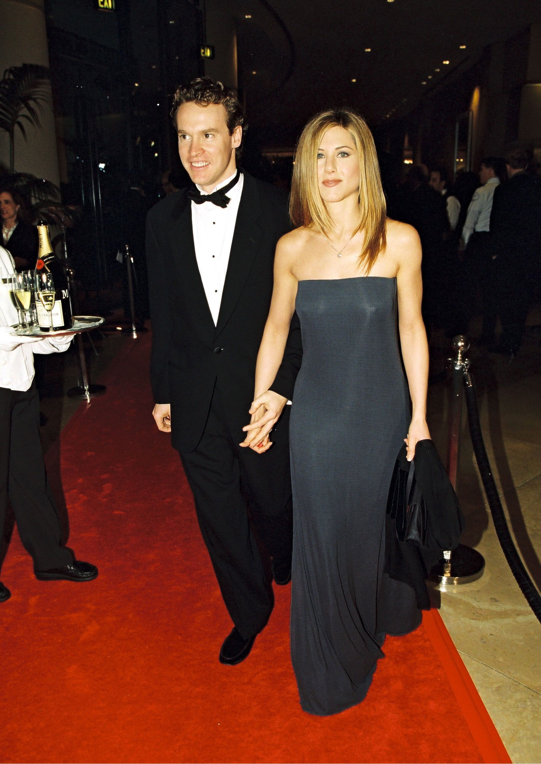 Tate Donovan and Jennifer Aniston
