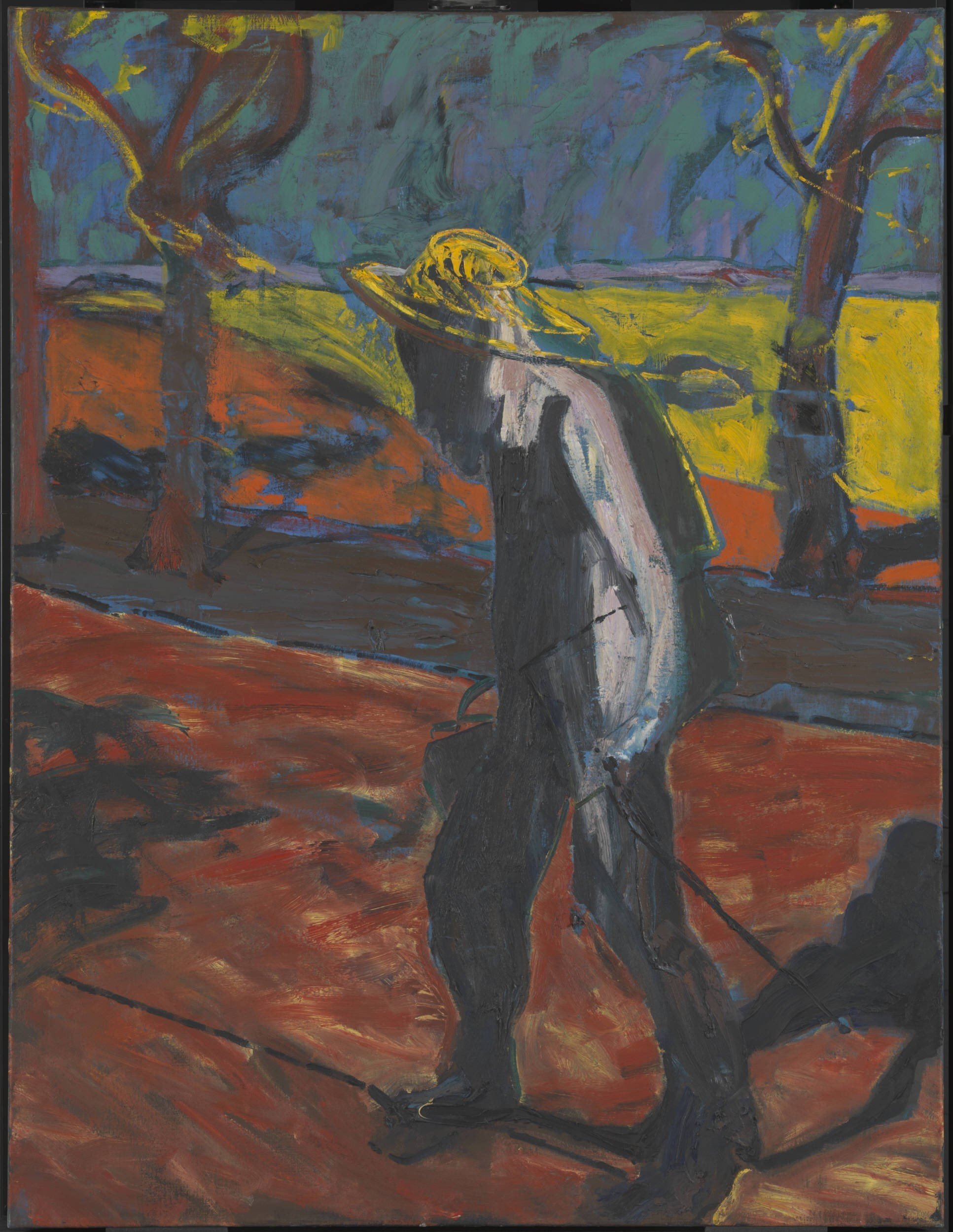 Francis Bacon's Study for Portrait of Van Gogh IV, 1957 (The Estate of Francis Bacon)