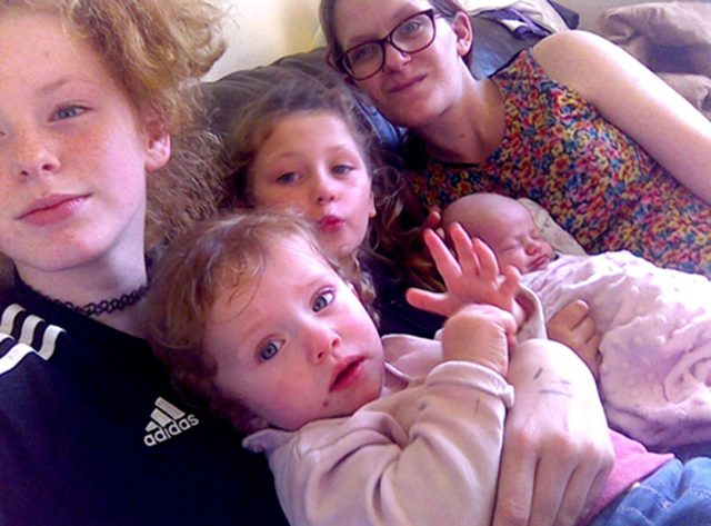 Katlin, Emily, Sophie, Janey and Charlene (PA Real Life/Collect)