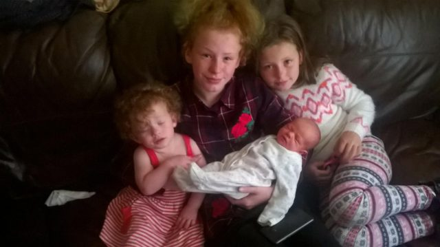 Emily, Katlin, Sophie and Janey (PA Real Life/Collect)