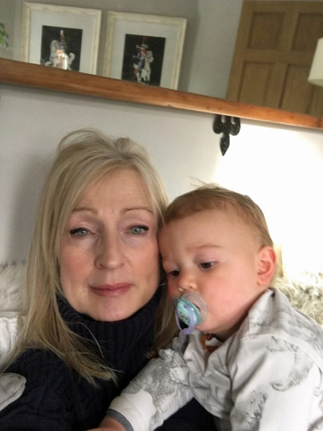 Catherine with grandson (Collect/PA Real Life)