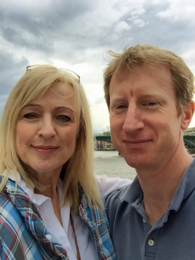 Catherine and her husband (Collect/PA Real Life)