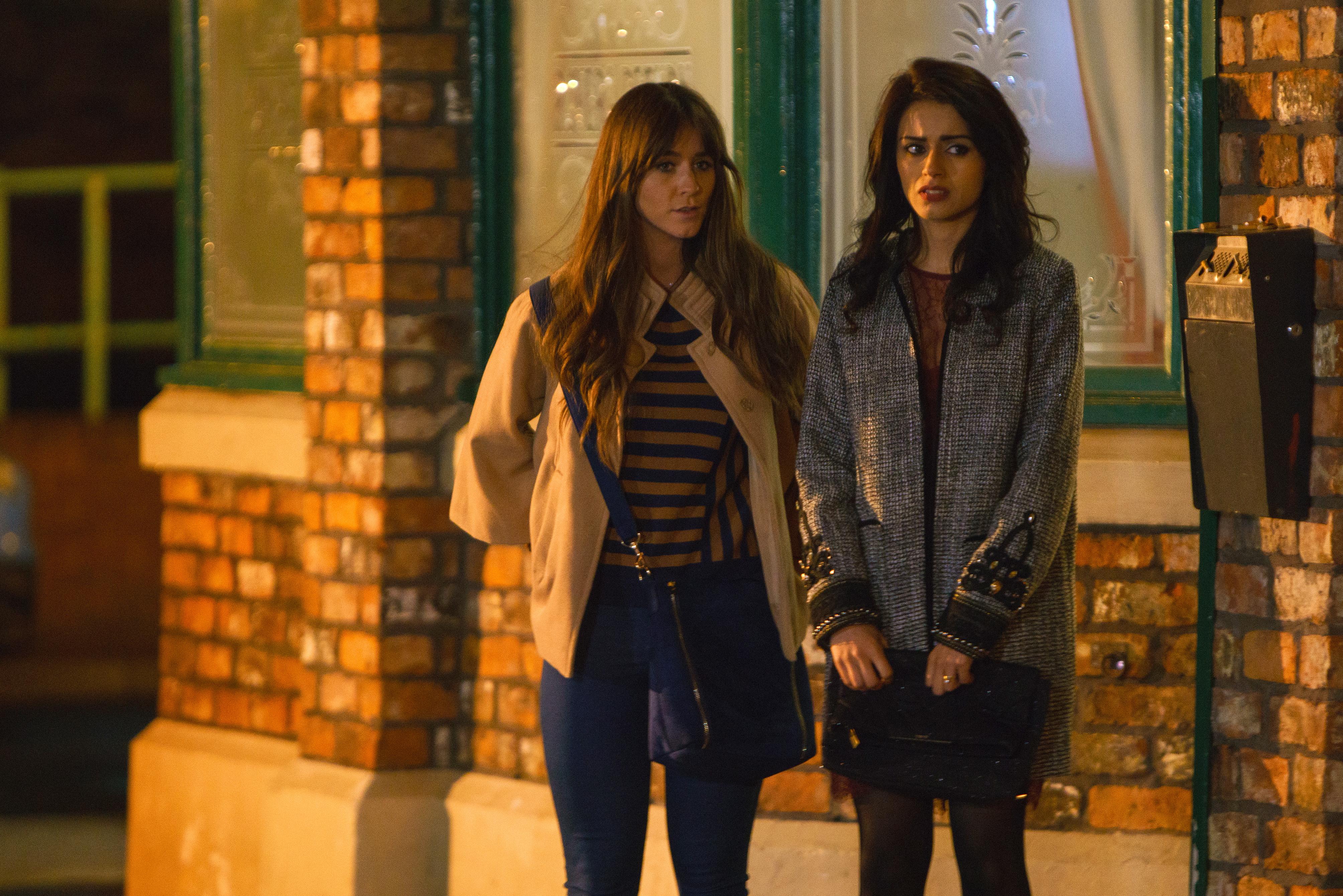 Coronation Street's Rana and Sophie